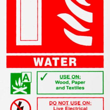 Extinguisher Signs