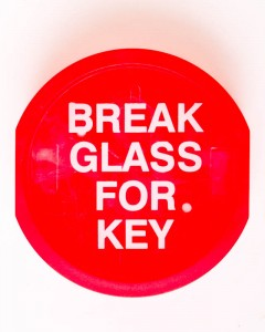 Break Glass for Key
