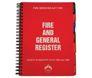 Fire Registers & Document Enclosures