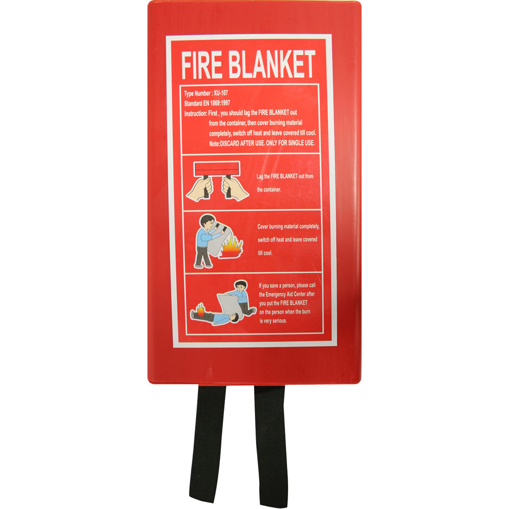 Fire Blanket 1m X 1m Fire Products Direct