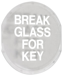 STI6725 Replacement Glass for Key Box