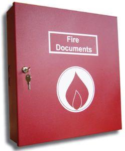 LA Fire Document Box