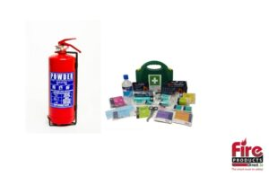 Fire & First Aid Safety Bundle 2